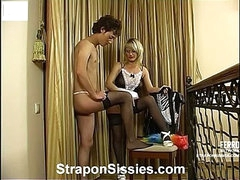Irene&Jack female clothed couple on video