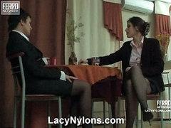 Sheila&Jaclyn nasty nylon movie