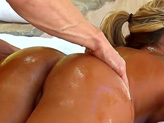 Look at delicious juicy babe Holly Tyler relishing Johnny Sins making dirty massage and drilling her soaked cunt