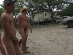Nice farm boys are having fun running around and having great sex