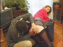 Mamma Fuck Son&amp,#039,s friend and Daddy